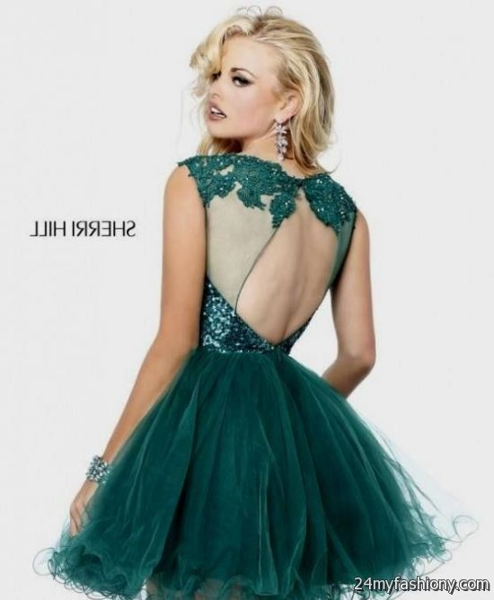 Blue prom cocktail dresses 2018
