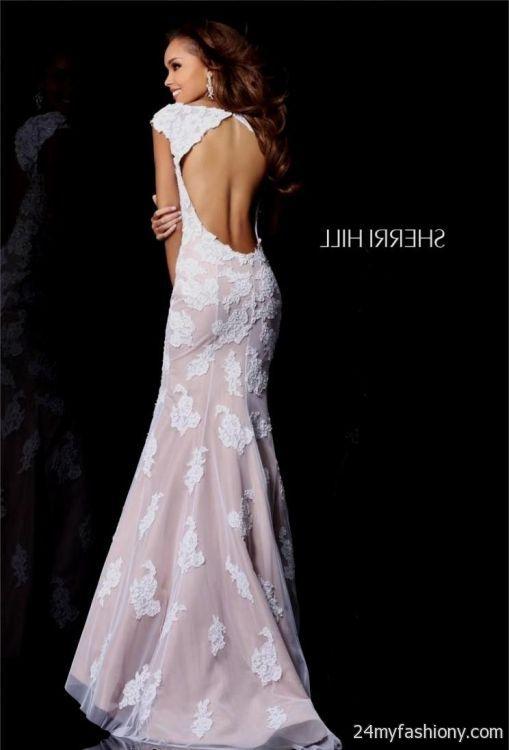 Sherri Hill Prom Dress Champagne