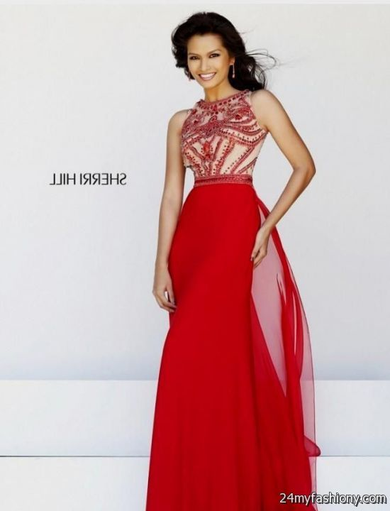 Old Fashioned Red Sherri Hill Prom Dresses 2014 Picture Collection ...