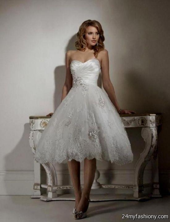 826f7a6043d short beach wedding dress with sleeves looks