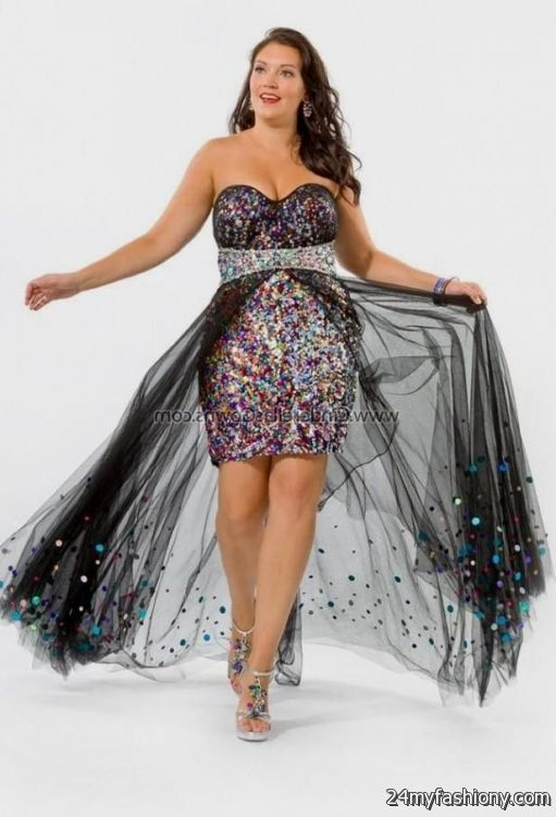 81f978f8da You can share these short black sparkly prom dress on Facebook