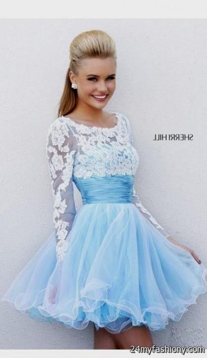 Blue Prom Dresses for Juniors