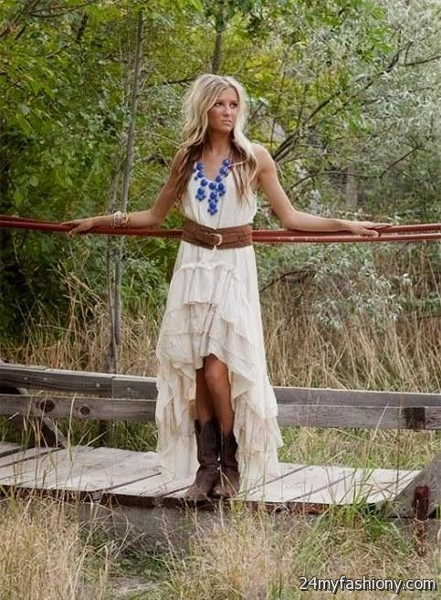 Wedding Guest Dress With Cowboy Boots 109