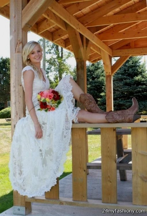 Country Style Wedding With Cowboy Boots