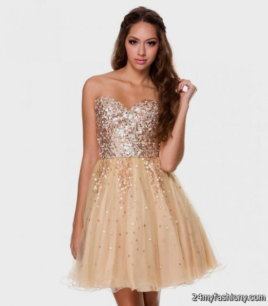 short gold prom dresses 2016-2017 » B2B Fashion
