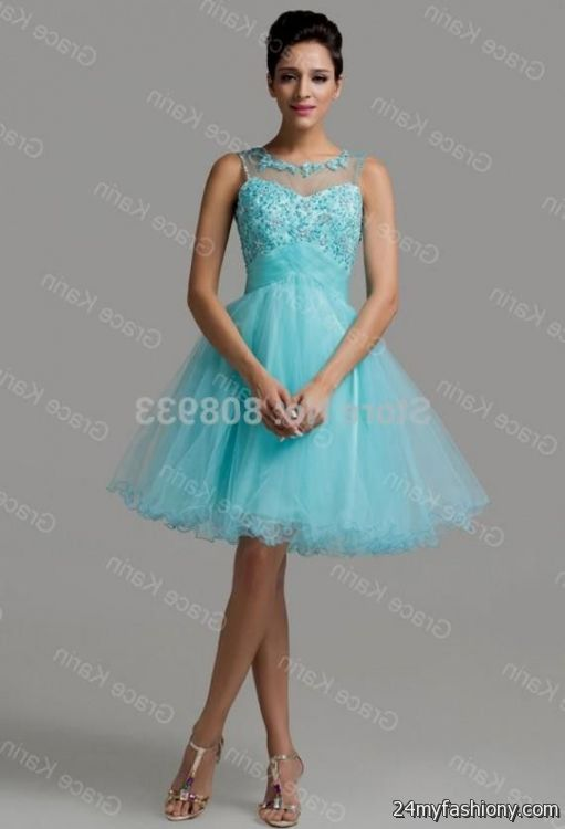 short lace turquoise bridesmaid dresses looks b2b fashion