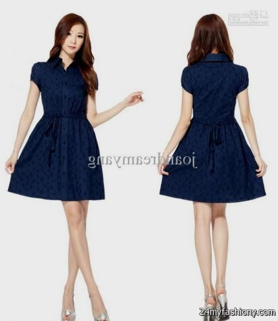 short light blue casual dresses 20162017 b2b fashion