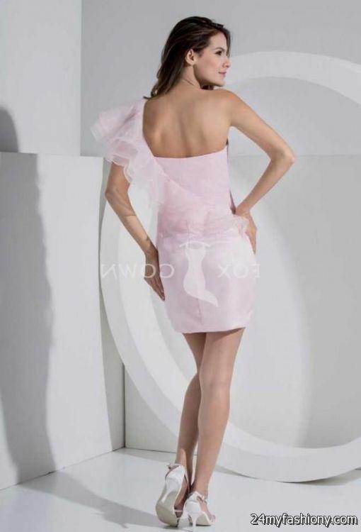 short light pink bridesmaid dresses 2016-2017 | B2B Fashion