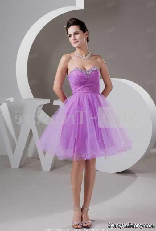 Light purple dresses for teenagers