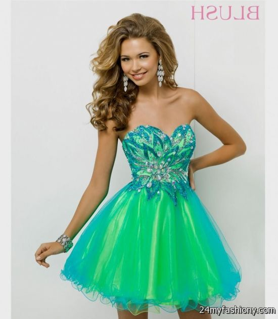 Short Green Prom Dresses - Ocodea.com