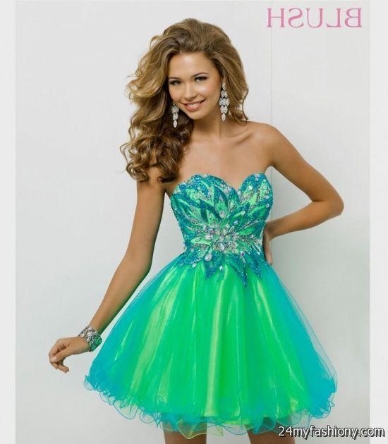 Short Green Prom Dresses - Ocodea.com