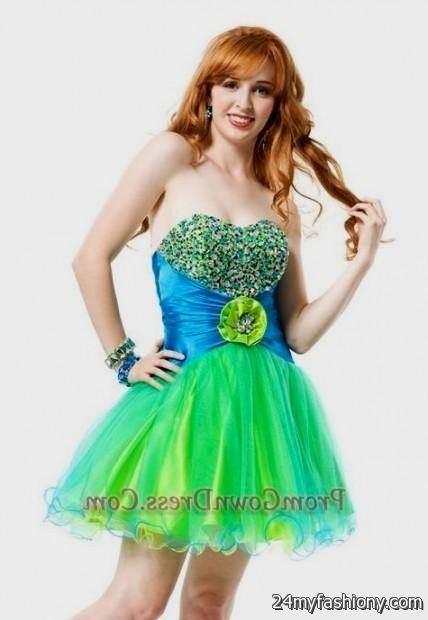 short neon colored prom dresses prom dress style
