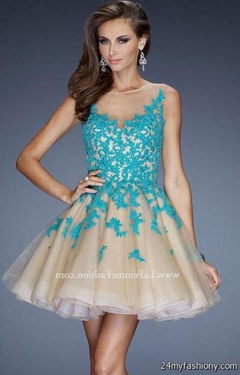 Designer Short Prom Dresses 2017 116