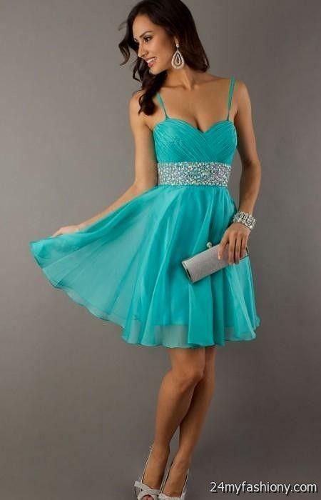 short prom dress with straps 2016-2017 | B2B Fashion