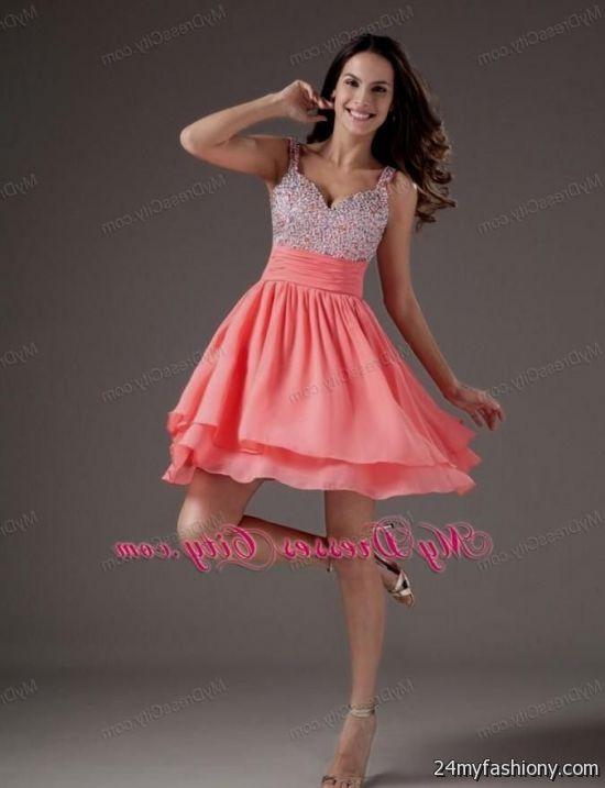 short prom dress with straps 2016-2017   B2B Fashion