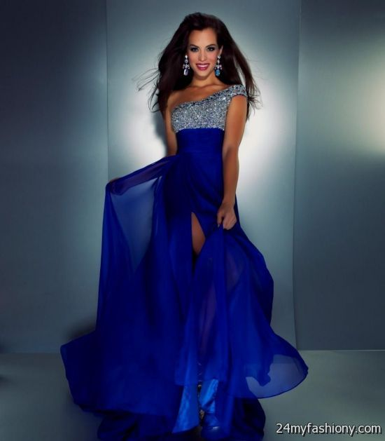 Short royal blue bridesmaid dresses with straps 2016 2017 for Royal blue short wedding dresses