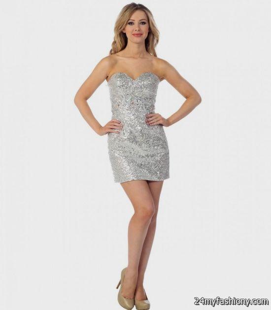 Short Sequin Prom Dresses 9