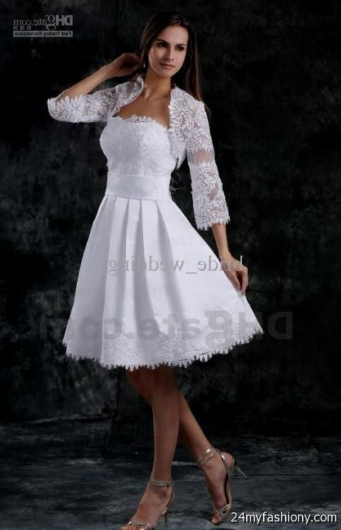 Short white wedding dresses 2016 2017 b2b fashion customize your dress and stand out from the crowd look your best in these sexy prom dresses pin it like you can share these short white wedding junglespirit