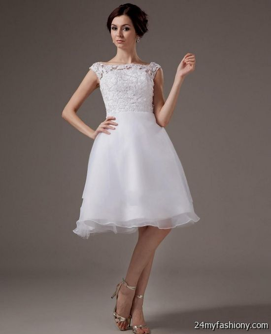 short white wedding dresses 2016-2017 | B2B Fashion