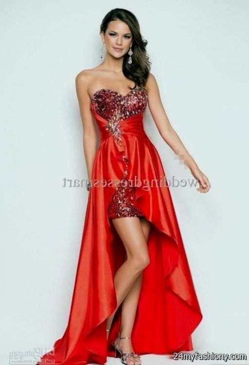 Collection Red And Silver Prom Dresses Pictures - The Fashions Of ...