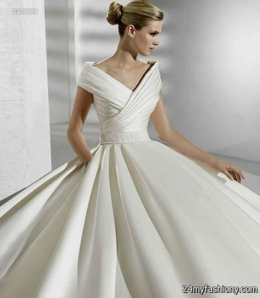 silver ball gowns with sleeves 2016-2017   B2B Fashion