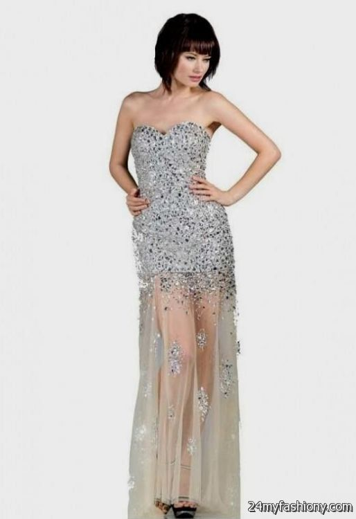 923f69b9ca2 silver sparkly homecoming dresses looks