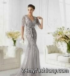 New wedding dresses for young: Silver wedding dresses for older brides