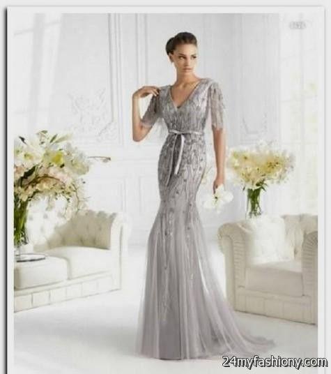 Silver Wedding Dresses For Older Brides Looks