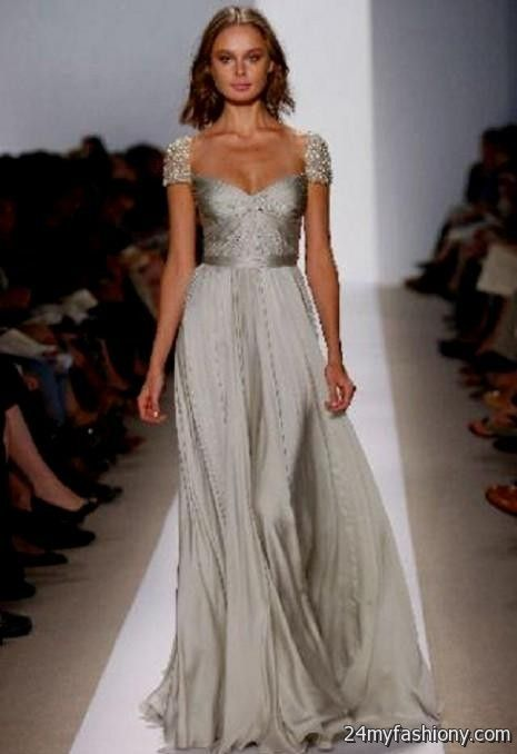 Unique Wedding Dresses For Mature Brides : Silver wedding dresses for older brides  ? b fashion