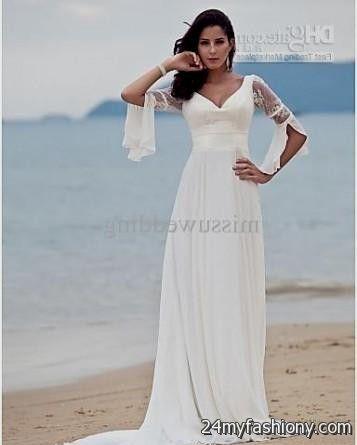 Stunning Beach Wedding Dresses With Sleeves Ideas - Styles & Ideas ...