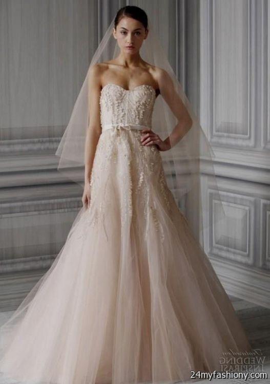 Blush Colored Wedding Dresses 2017 - Lady Wedding Dresses