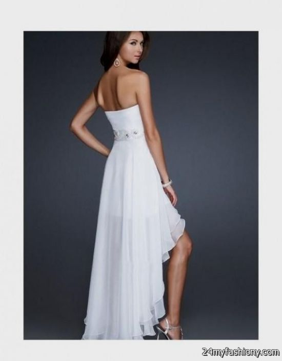 Simple High Low Dresses