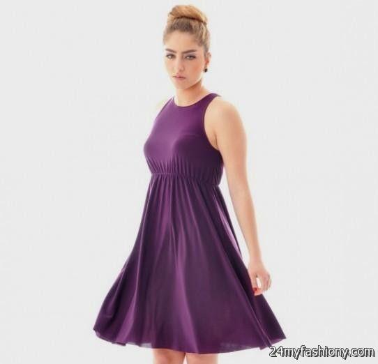 simple purple sundress 2016-2017 » B2B Fashion