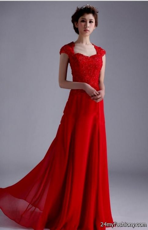 Simple red and black wedding dresses 2016 2017 b2b fashion for Red and black wedding dresses