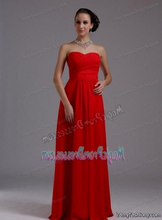 Simple Red Prom Dresses – fashion dresses