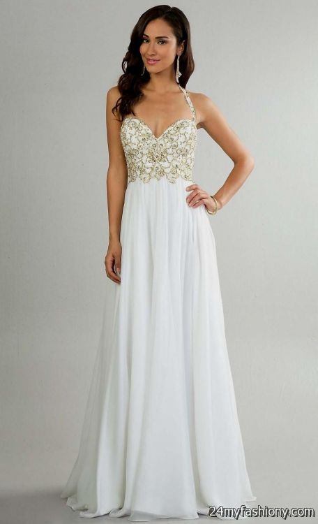 White Prom Formal Dresses Article 100
