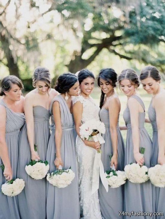 slate blue bridesmaid dress 2016-2017 - Slate Blue Bridesmaid Dress 2016-2017 B2B Fashion