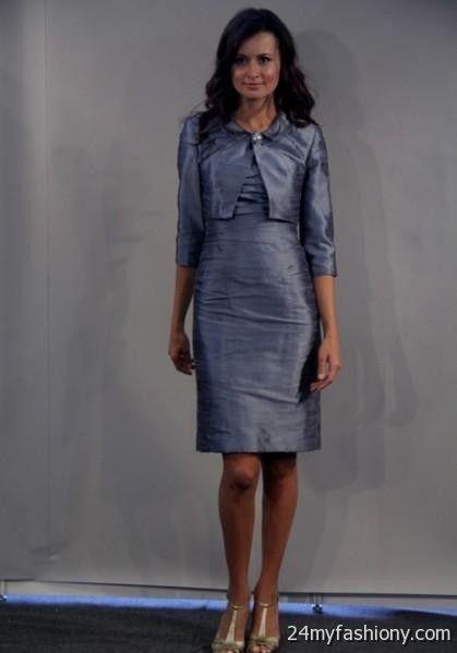 Mother Of The Bride Dresses Slate Blue - Junoir Bridesmaid Dresses