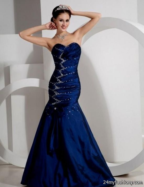 Collection Royal Blue Sparkly Prom Dress Pictures - Brida