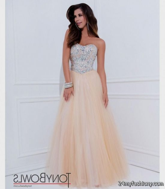 strapless champagne prom dresses 20162017 b2b fashion