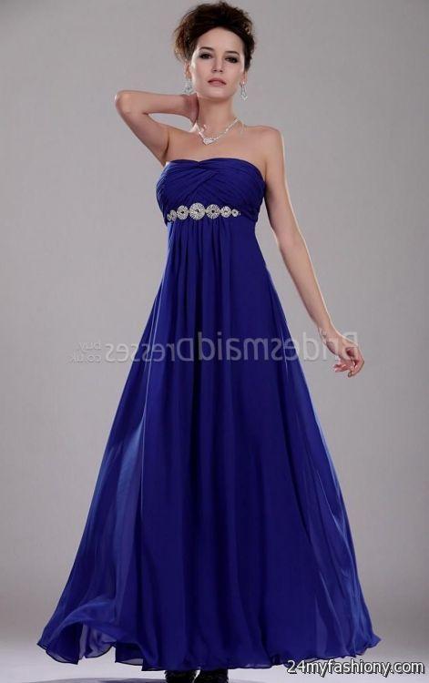Bridesmaid Dresses Cobalt Blue - Ocodea.com