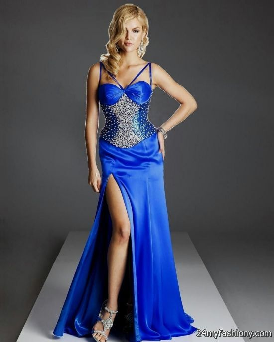 Strapless Cobalt Blue Bridesmaid Dresses Looks B2b Fashion