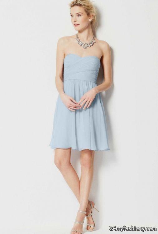 strapless light blue sundress 2016-2017 | B2B Fashion - photo#24
