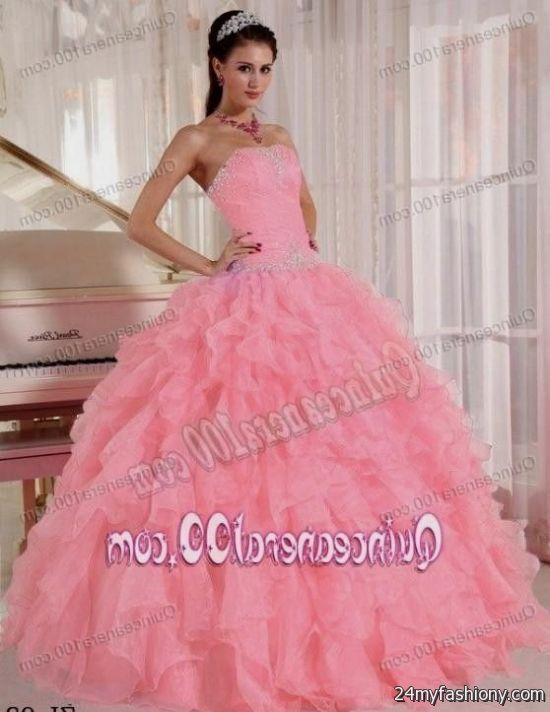 strapless light pink quinceanera dresses 2016-2017 » B2B Fashion