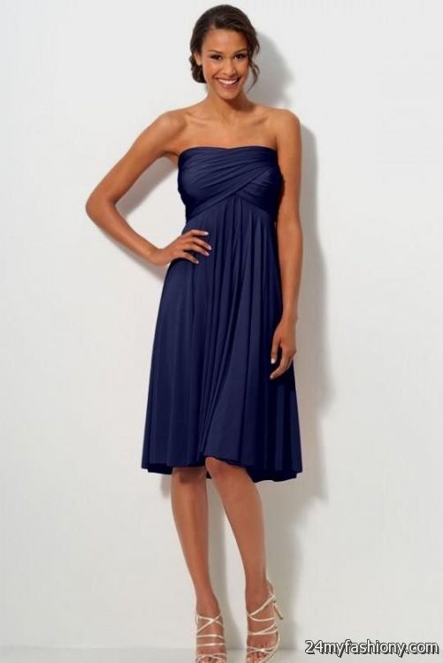 Look Your Best In These Y Prom Dresses Pin It Like You Can Share Strapless Navy Blue Bridesmaid