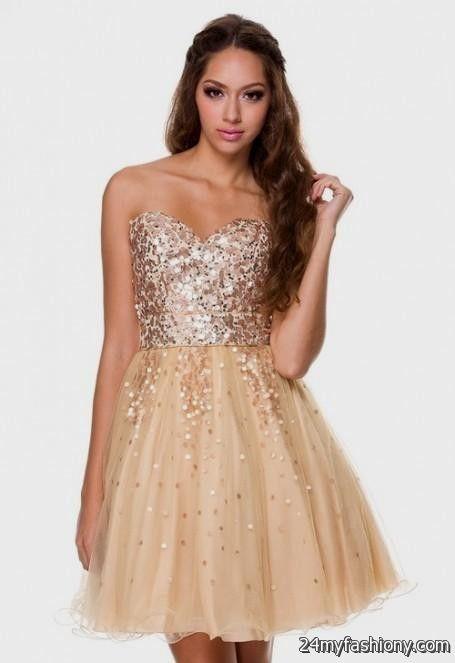Strapless Silver Dama Dresses Looks B2b Fashion