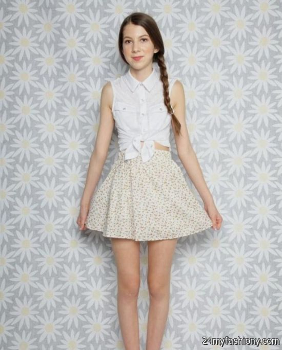 summer dresses for teenage girls 2016-2017