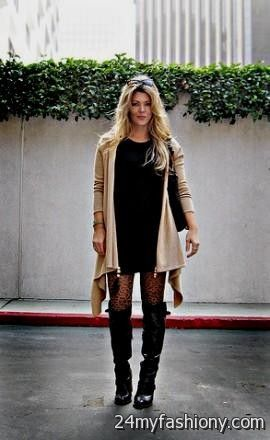 ad5cddbccc You can share these sweater dresses with tights and boots on Facebook