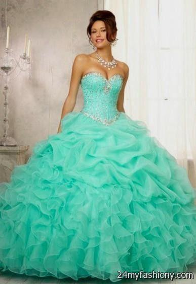 sweet 16 dresses ball gowns blue 2016-2017 » B2B Fashion