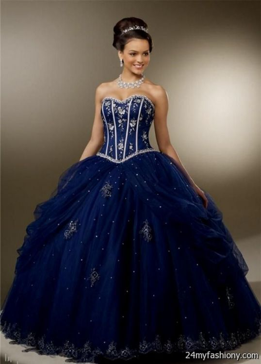sweet 16 dresses dark blue 2016-2017 » B2B Fashion